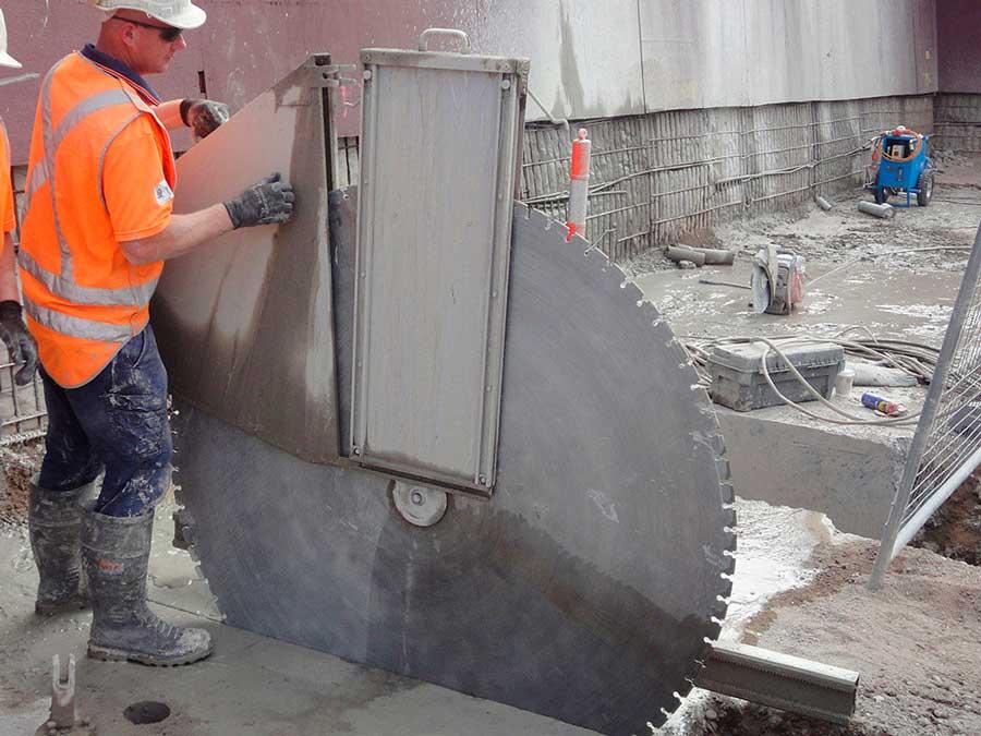 долбежка бетона расценка